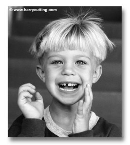 Boy Missing a Tooth
